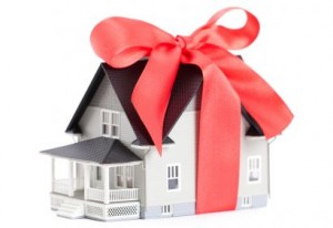 house as gift