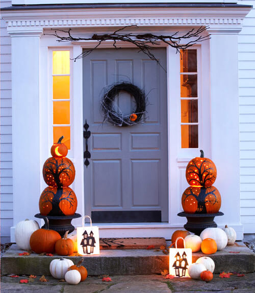 With less than a week away until the night of goblins ghouls and good candy we thought it would be appropriate to put together a house-decorating guide ... & Halloween Decorating